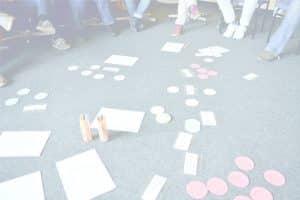 Moderationskarten im Seminar