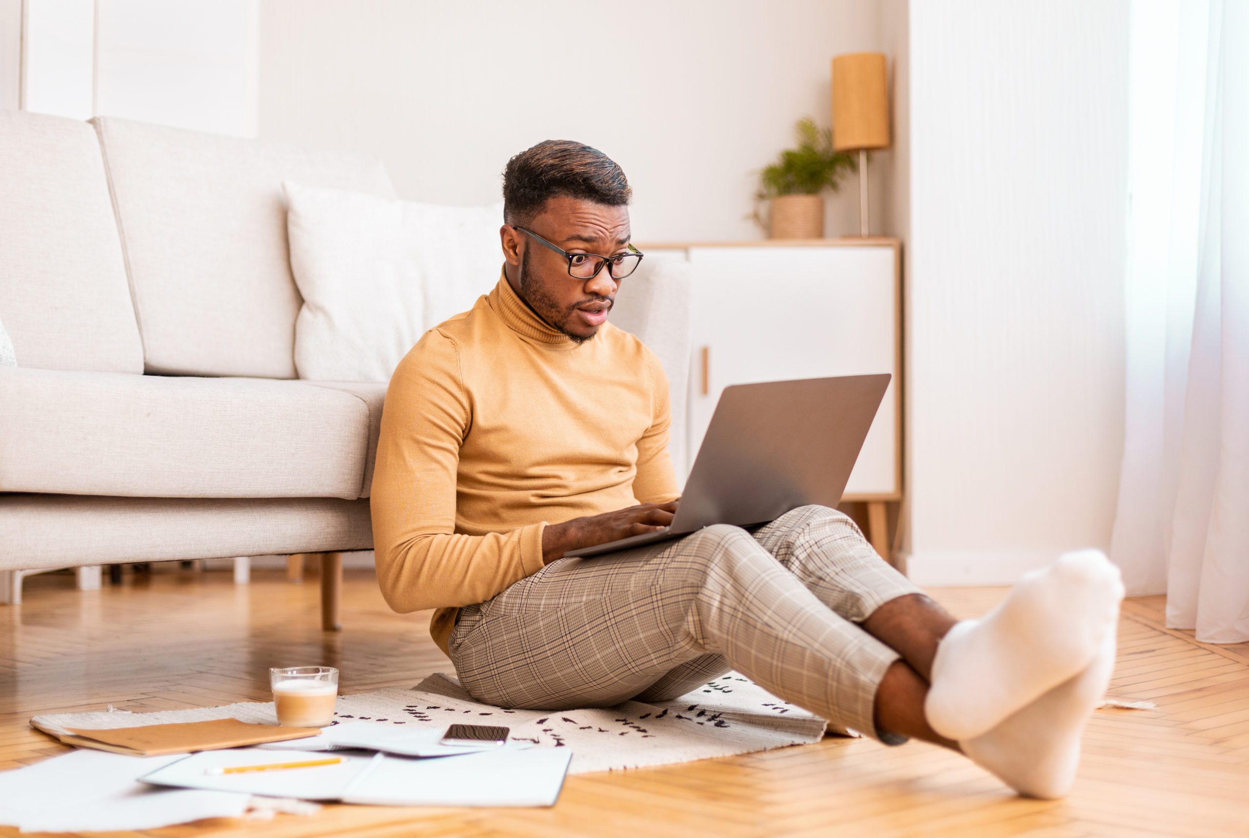 Mann lernt online